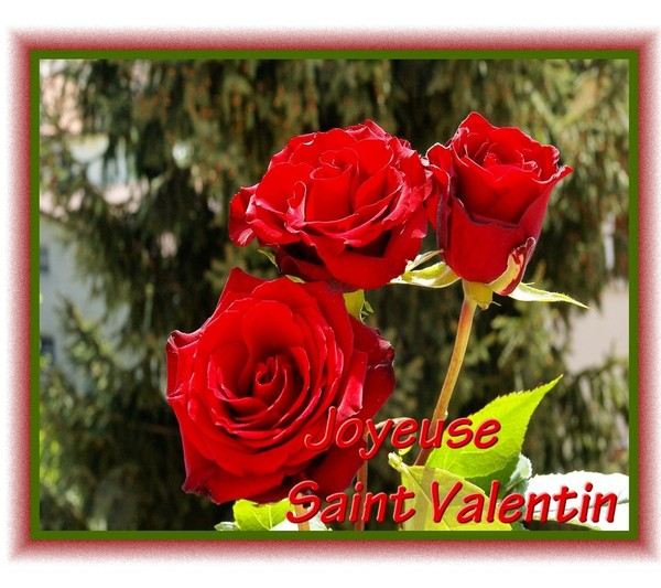 CREATION SAINT VALENTIN
